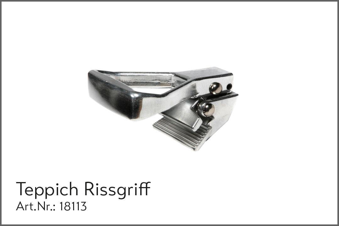 Teppich-Rissgriff