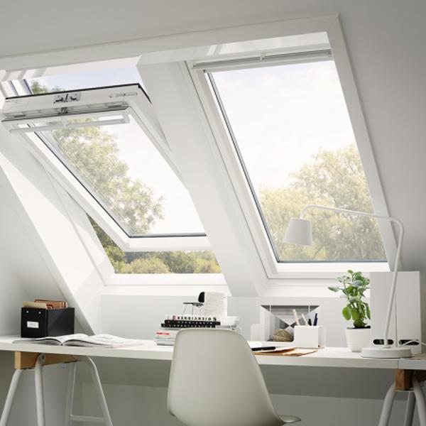 VELUX Schwingfenster GGU 0068 Kunststoff ENERGIE MK04