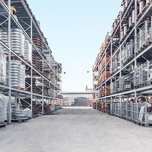 Lagerung Baustoffe