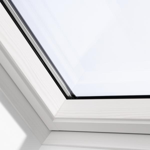 VELUX Klapp-Schwing Fenster GPL 2070 Holz weiss THERMO MK08