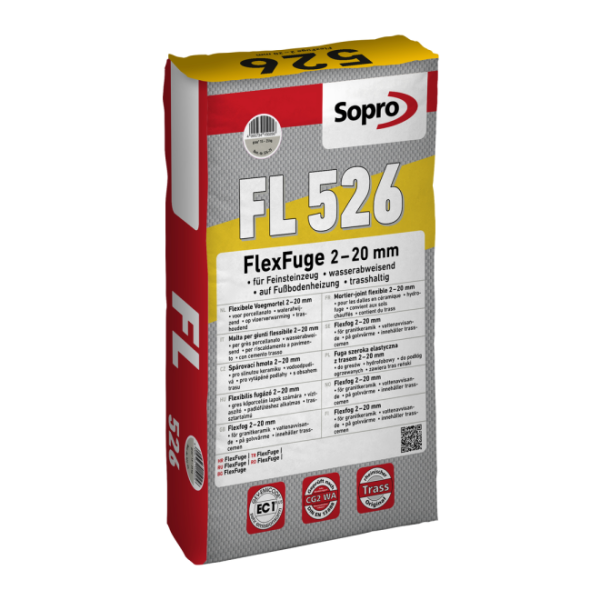 Sopro FL627-05 FlexFuge sandgrau 18 Beutel 5 kg