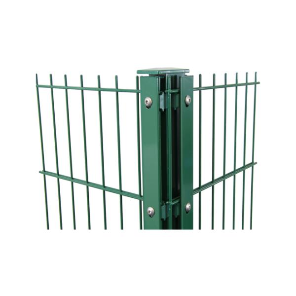 Großewinkelmann Zaunsystem Eck-Pfosten Typ FA grün 243cm