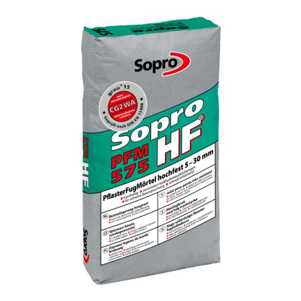 Sopro PFM HF575-21 PflasterFugMörtel hochfest grau 15 Sack 25 kg