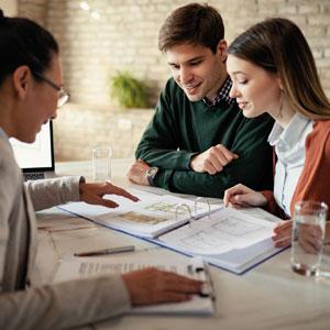 Beratung von Kunden durch Experten