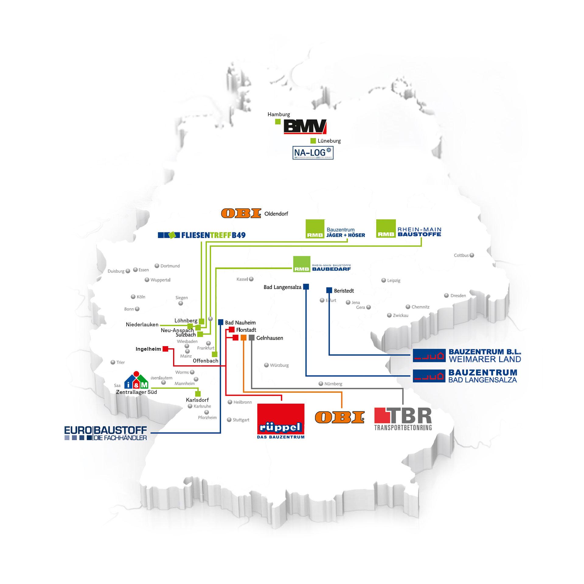 Landkarte - Partner