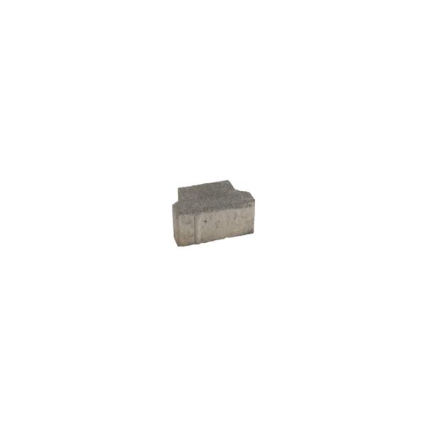 Plötner DT-Verbundpflaster Randstein gefast grau 8cm