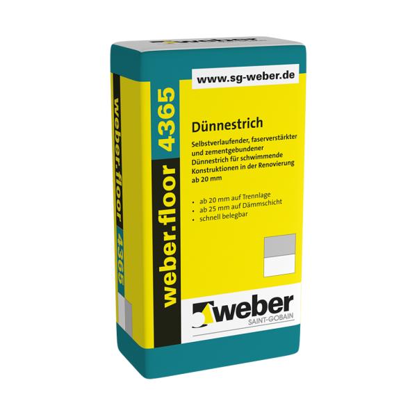 weber.floor 4955 Trittschallb. 3mm 1x30m Trennlagenbahn