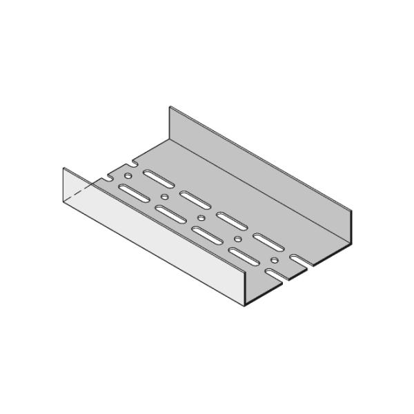 Knauf UA-Profil 150x40x2mm 5000mm mit zweireihiger Lochung