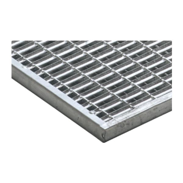 ACO Vario Schuhabstreifer Maschenrost Stahl verzinkt 75x50cm