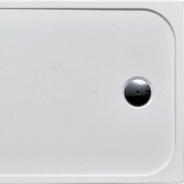 delphis living Acryl-Rechteck-Duschwanne 1200x900x25mm weiß