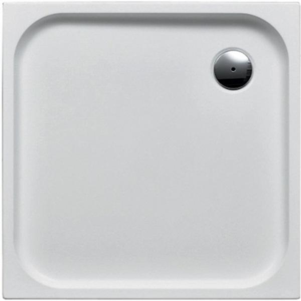 delphis living Acryl-Quadrat-Duschwanne 800x800x25mm weiß