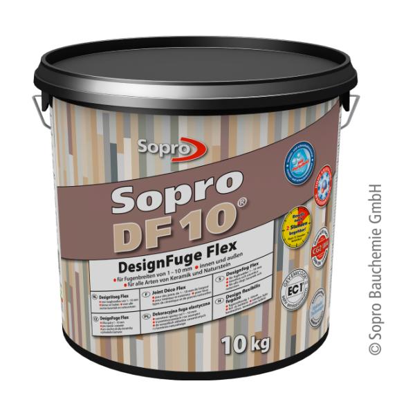 Sopro DF10 1053-10 DesignFuge Flex grau 15 Eimer 10 kg
