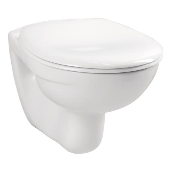base pro Wand-Tiefspülklosett weiß Hygiene Glasur