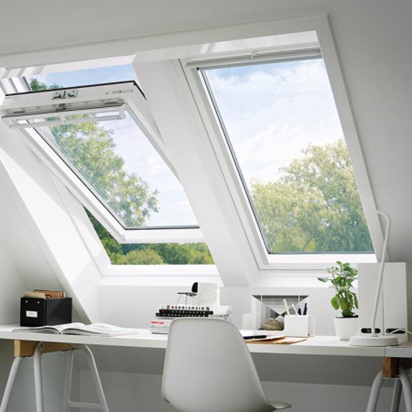 VELUX Schwingfenster GGU 0066 Kunststoff ENERGIE PLUS CK04