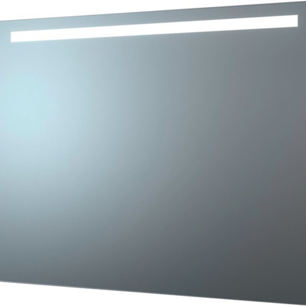 delphis LIV LED-Leuchtspiegel Standard 80x100 1 sat. Lich 90x2cm wa/oben