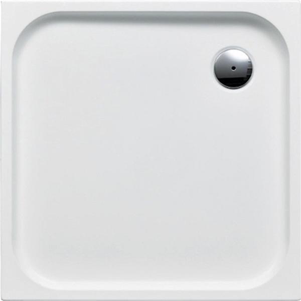 delphis living Acryl-Quadrat-Duschwanne 1000x1000x25 m weiß