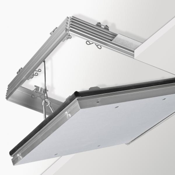 Knauf Revisionsklappe REVO BS30 Decke 500x500mm für 18-25mm