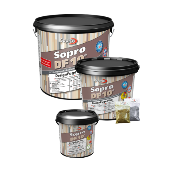 Sopro DF10 1060-10 DesignFuge Flex anthrazit 66 Eimer 10 kg
