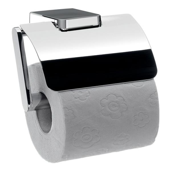 delphis unic Papierhalter mit Deckel neu chr