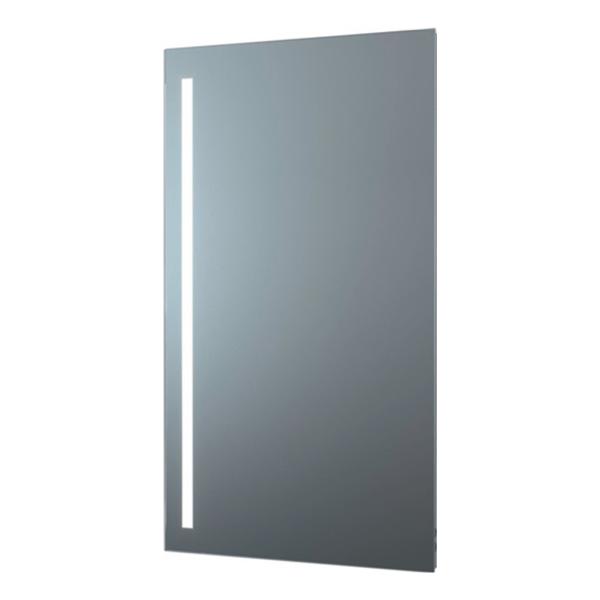 delphis LIV LED-Leuchtspiegel Standard 900x500mm 1 sat. Lich 800x20mm senkr/li