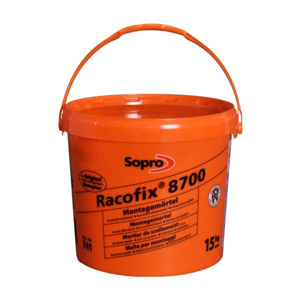Sopro 741-43 Racofix 8700 Schnellmontagemörtel Eimer 5 kg