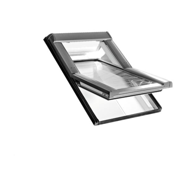Roto Dachfenster Schwingfenster Designo R6 Kunststoff weiß 2fach Comfort 07/16