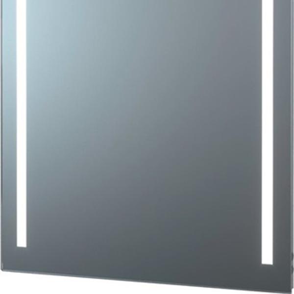 delphis LIV LED-Leuchtspiegel Standard 800x450mm 2 sat. Lich 700x20mm senkr