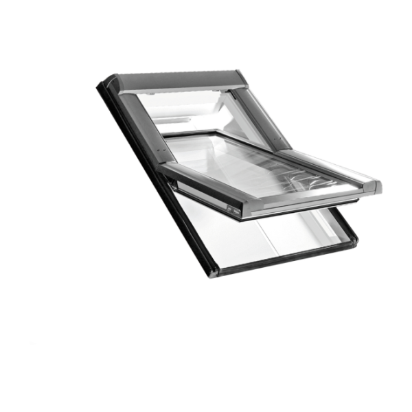 Roto Dachfenster Schwingfenster Designo R6 Kunststoff weiß 2fach Comfort 07/07