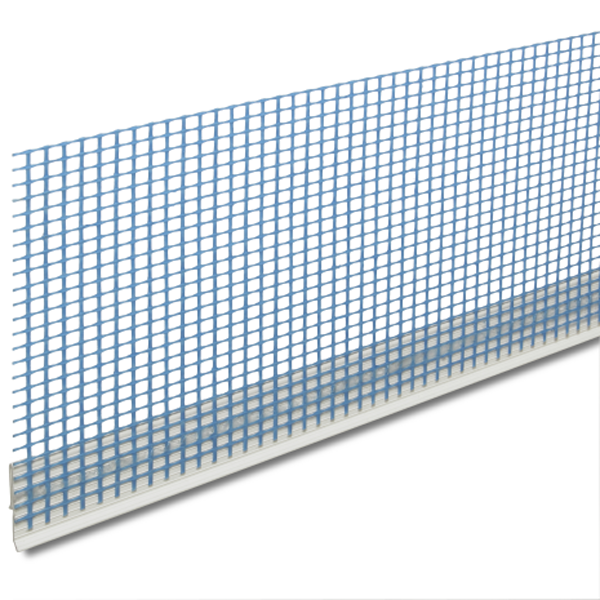 Knauf Aufsteckprofil 37400 Kunststoff 6mm 2,5m