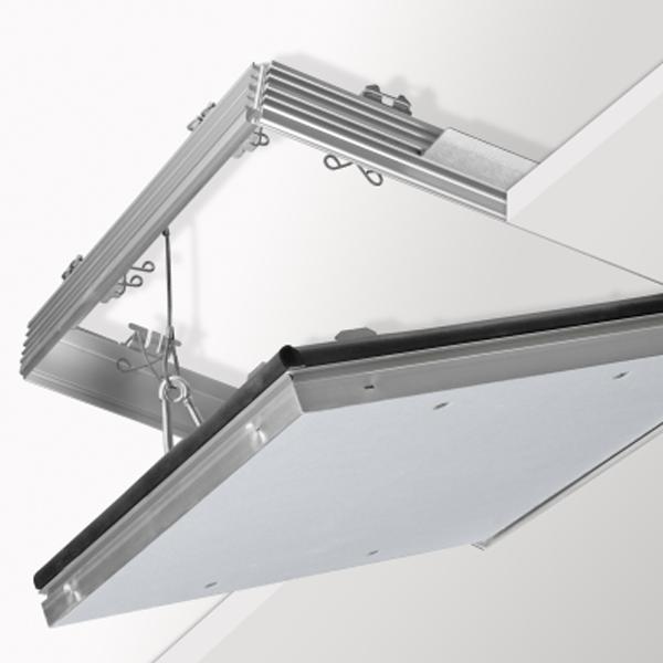 Knauf Revisionsklappe F-TEC 12,5-30mm 600x600 mm luft-/staub-/rauchdicht