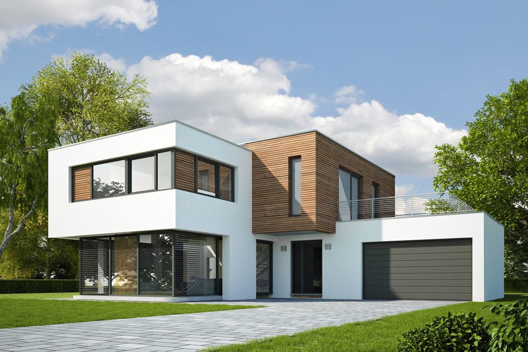 Rendering-Gebäude-3D