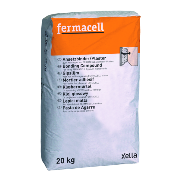 James Hardie Fermacell Plaster 20kg zum kleben der Fermacell Platten auf Wände