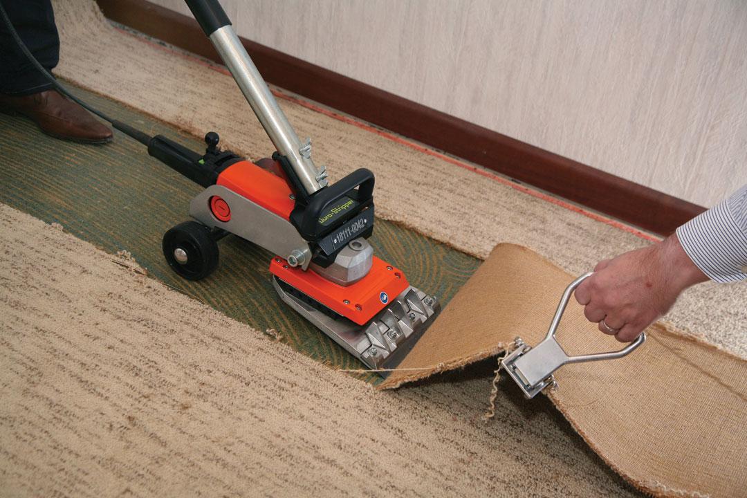 Teppich-PVC-Entferner-Werkzeugverleih-Service