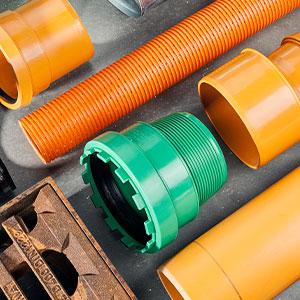 Tiefbau-Baustoffe-Material
