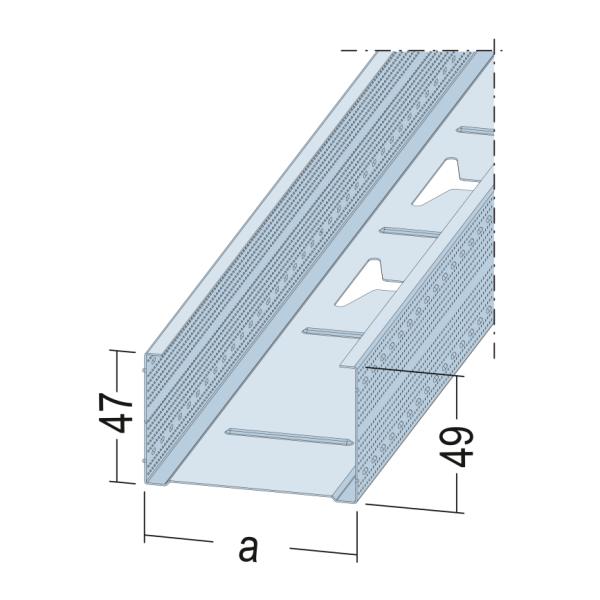 CW-Profil MAXI 5211 50-06 2,6m CWProfil