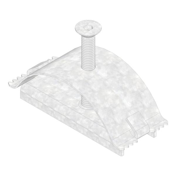 Hauraton Faserfix Standard Klemmrost-Verschraubung