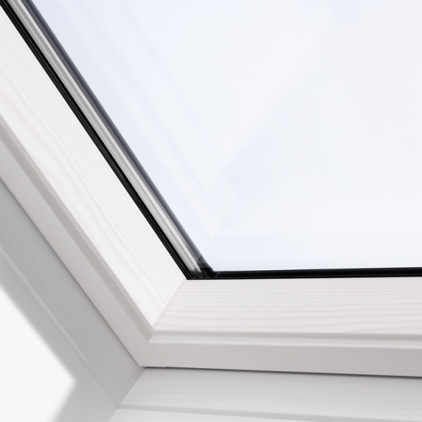 VELUX Schwingfenster GGL 2066 Holz weiss ENERGIE PLUS SK06