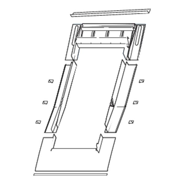Roto Eindeckrahmen Designo Ebene Ziegel EZI 05/11