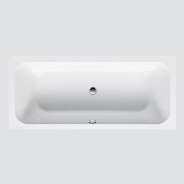 delphis living Acryl-Rechteckwanne Duo 1900x900x450mm, Nutzinhalt 200 l weiß