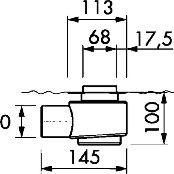 delphis Duschrinne Länge 1000mm
