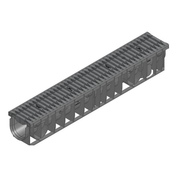 Hauraton Recyfix Pro 100 Entwässerungsrinne 100cm