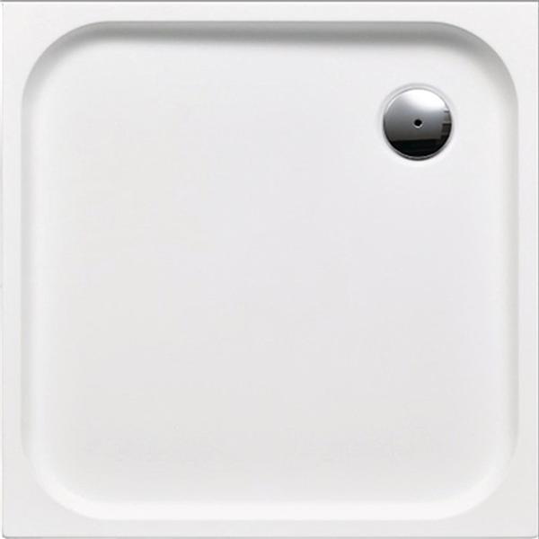 delphis living Acryl-Quadrat-Duschwanne 900x900x25mm weiß