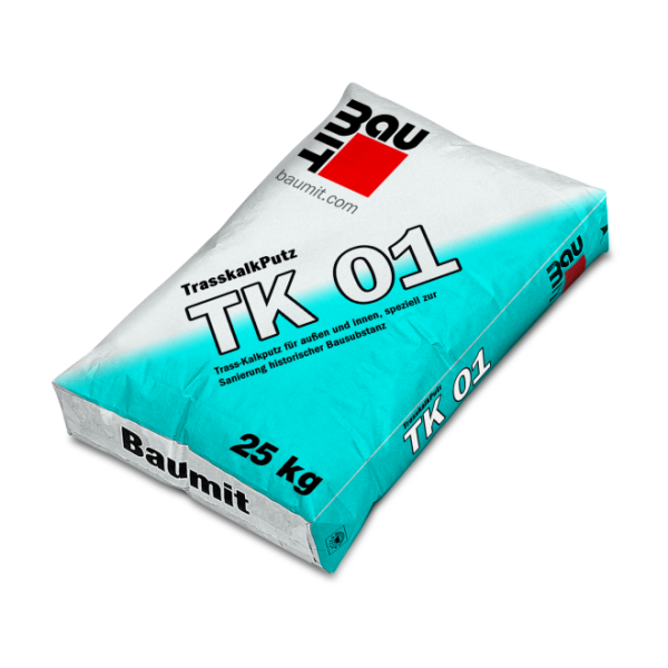 Baumit Trasskalkputz TK 01 0-1,2mm Körnung 25kg